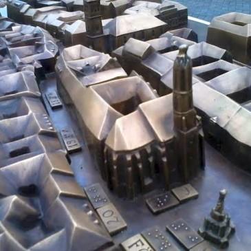 Háromdimenziós makettet adtak át Sopronban